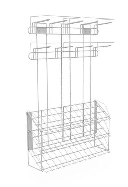 Навесной блок 3-х полочный с крючками 950*700*210